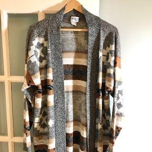 """The Dude"" Southwestern Vintage Cardigan Sweater"